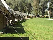 Luxurious Camping at Swiss Tents in Morpheus Valley Resorts