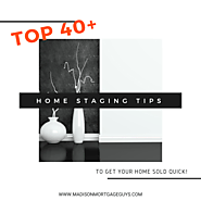 40+ Home Staging Tips