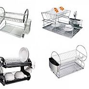 Best 2 Tier Dish Rack with Drip Tray