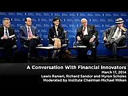 A Conversation With Financial Innovators