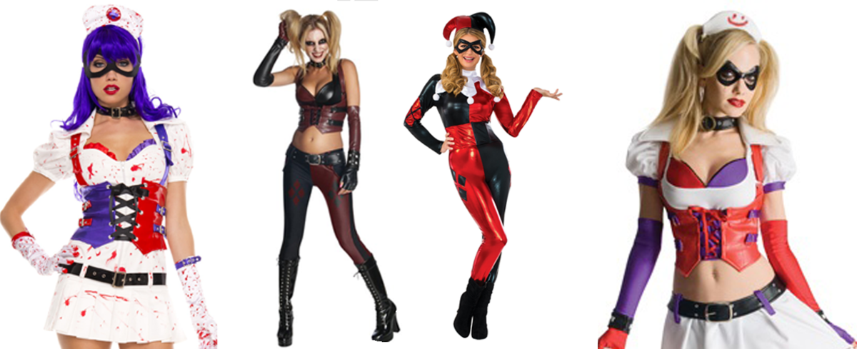 Headline for Top 10 Harley Quinn Arkham City Costumes