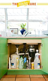 The Kitchn Cure Day 16: Clean and Organize the Under-Sink Area - The Kitchn Cure Fall 2014