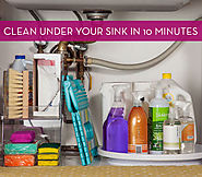 How to: Clean Under Your Kitchen Sink in 10 Minutes