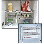 Top Rated Under Kitchen Sink Organizer Shelf: Under Sink Storage Units
