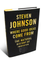 @stevenbjohnson | Where Good Ideas Come From: The Natural History of Innovation