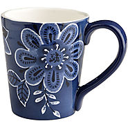 Indigo Floral Mug - Kitchen Things