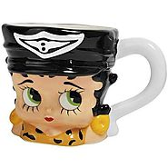 Betty Boop Motorcycle Betty Boop 13 oz. Ceramic Mug - Kitchen Things