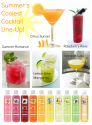Slim and Sparkling™ Summer Cocktails!