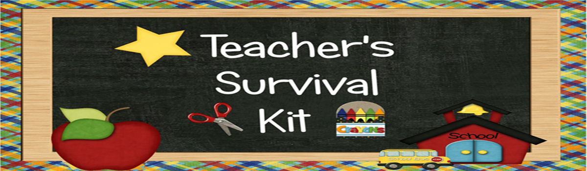 "Headline for A ""Survival Kit"" for New Teachers"