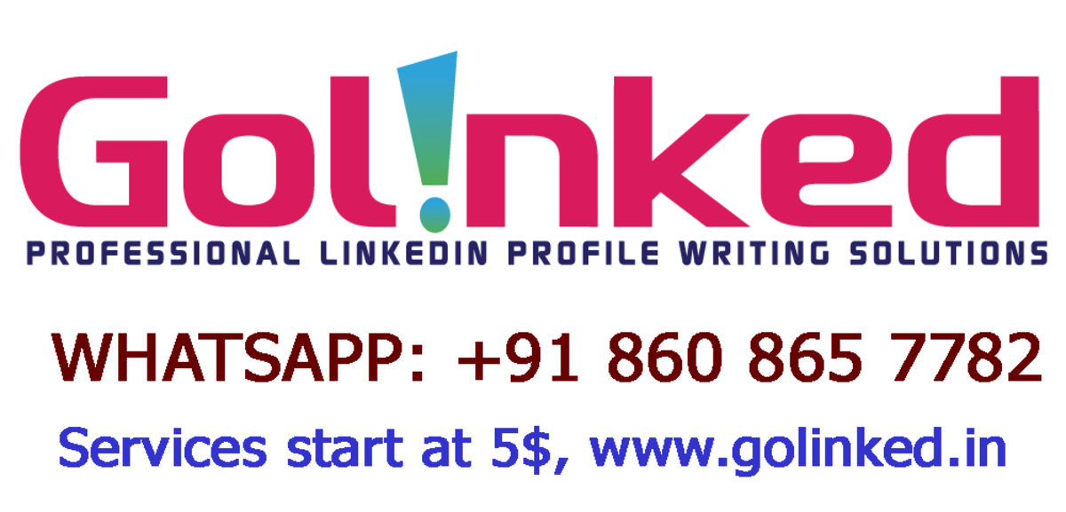 Headline for Best Social Media Marketing and LinkedIn profile writing solutions starting at 5$.