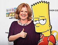Bart is voiced by a woman named Nancy Cartwright.