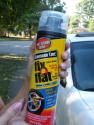 A can of Fix-O-Flat