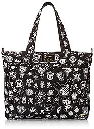 Ju-Ju-Be Super Be TokiDoki Collection Zippered Diaper Bag Tote, The Kings Court