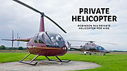 Robinson R44 Private Helicopter for Hire