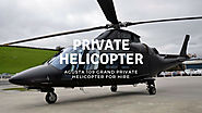 Agusta 109 Grand Private Helicopter for Hire