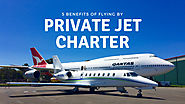 5 Benefits of Flying by Private Jet Charter
