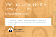 Looking for a sales job? Use Ideal Candidate and let the employers come to you!