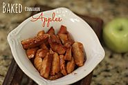 Baked Cinnamon Apples - BargainBriana