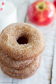 Apple Cider Doughnuts | Sweet Review - Taste and Tell