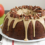 Apple-Cream Cheese Bundt Cake | Baked by Rachel