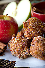 Old Mill Apple Cider Hushpuppies with Cinnamon-Sugar
