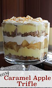 Caramel Apple Trifle Recipe - Frugal Fanatic