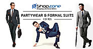 Partywear & Formal Suits For Men