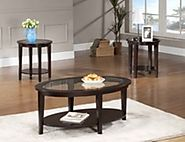 Solid Wood Coffee Table And End Table Sets With Great Reviews (with image) · kristin_gunnars