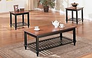 Best Rated Solid Wood Coffee Table And End Table Sets