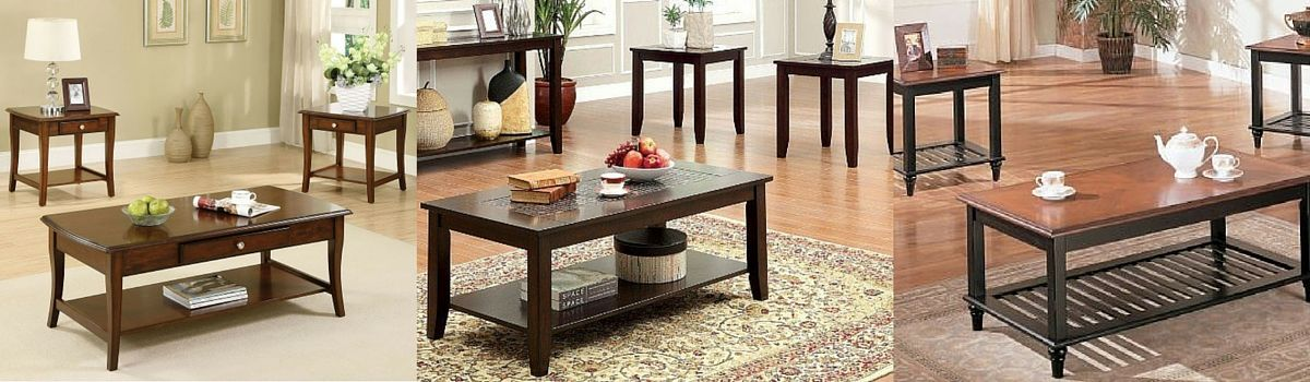 Headline for Solid Wood Coffee Table And End Table Sets