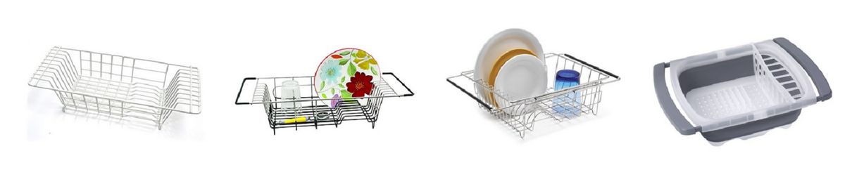 Headline for Best Over the Sink Dish Drainer for the Kitchen - Ratings and Reviews