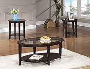 Popular And Best Rated Solid Wood Coffee Tables And End Tables Sets