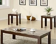 Solid Wood Coffee Table And End Table Sets - Tackk