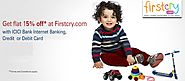 Get Extra 15% Cashback on Firstcry Paying via ICICI Bank Transaction - FirstCry