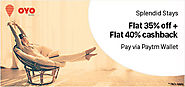 Flat 35% Off and 40% CashBack on OYO Rooms - OYO Rooms