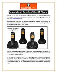 Demand and Supply of the BT Phones