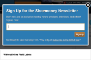 Opt-in Email Newsletter Popup Best Practices for 2012