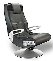 X Rocker 5127401 Pedestal Video Gaming Chair, Wireless , Black