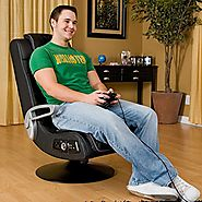 Ace Bayou 4.1 Pro Series X-Rocker Pedestal Wireless Game Chair