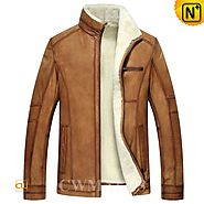 London Lamb Fur Shearling Jacket CW857032