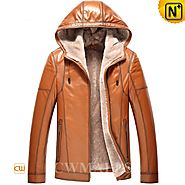 Salt Lake City Lamb Shearling Leather Parka CW857167