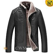 Milwaukee Lamb Shearling Jacket for Men CW870137