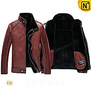 Dublin Mens Shearling Flying Jacket CW857238