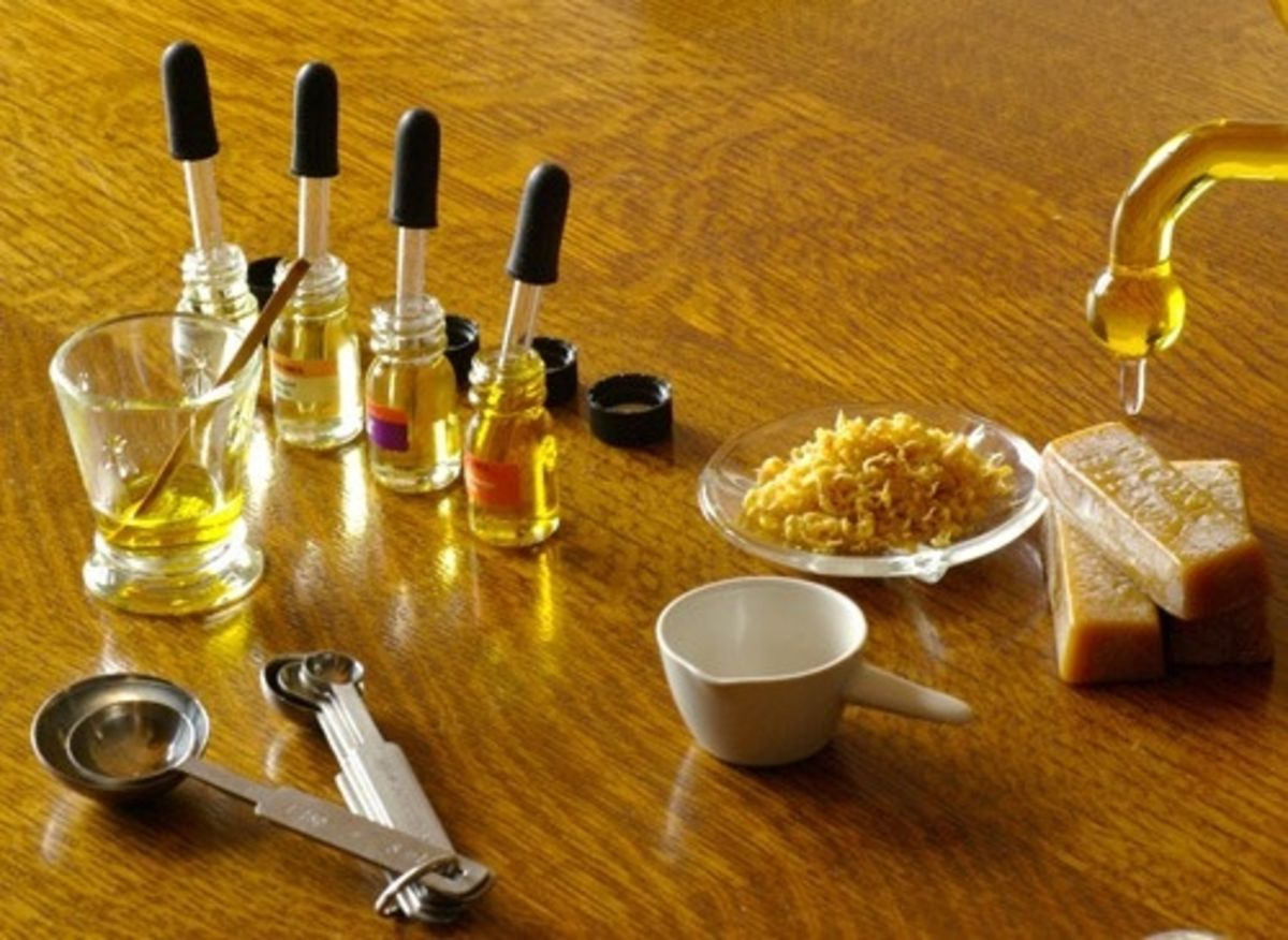 Headline for Making Scents: Smell Great with these 10 DIY Perfume Recipes.