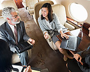 Fly in Class With Your Business Allies On A Private Jet