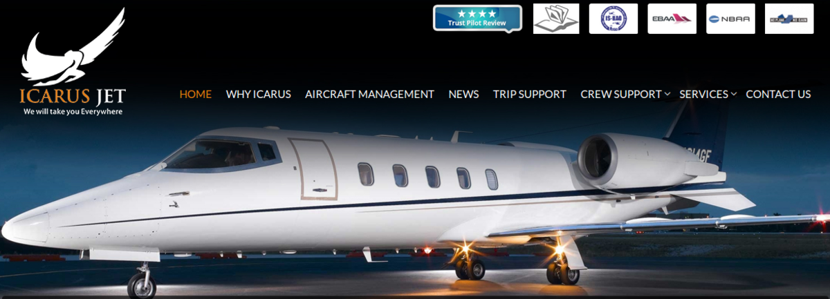 Headline for Icarus Jet