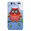 Retro vektoreule motorola droid RAZR cover von Zazzle.de