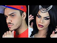 DRAG QUEEN MAKEUP | Arabian Princess