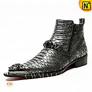 CWMALLS® Designer Exotic Dress Boots CW707207