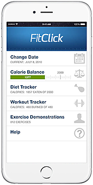 Calorie & Carb Counter App | Food & Calorie Tracker | FitClick